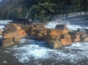 Montana Bronze Stack Boulders